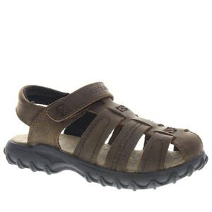 Stride Rite Hudsen - Boys 13.5 Brown Sandal XW